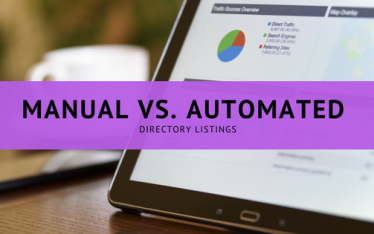 manual vs. automated directory listings