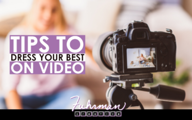 tips to dress your best on video